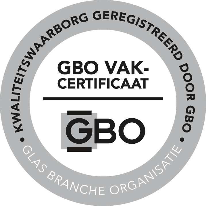 GBO-vakcertificaat Glashandel Zantman